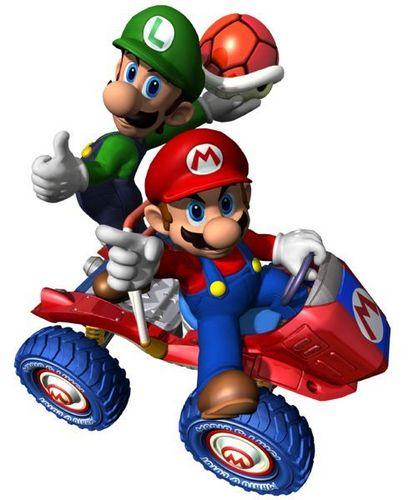 Mario Kart 바탕화면 entitled Mario and Luigi