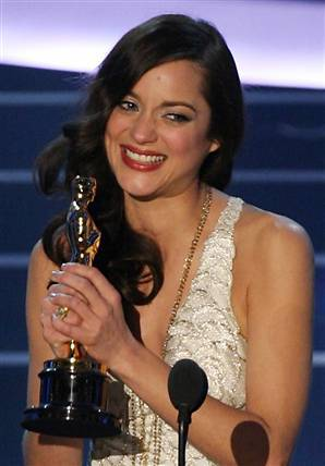 Marion at the Oscars 2008
