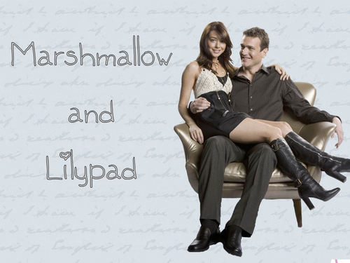 How I Met Your Mother wallpaper entitled Marshmallow & Lilypad