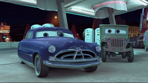 Pixar fond d'écran containing an automobile and a sedan called Mater and the Ghostlight