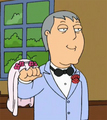 Mayor Adam West gets married.