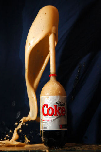 Mentos/Coke Eruption