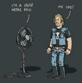 Metal Fan - heavy-metal photo