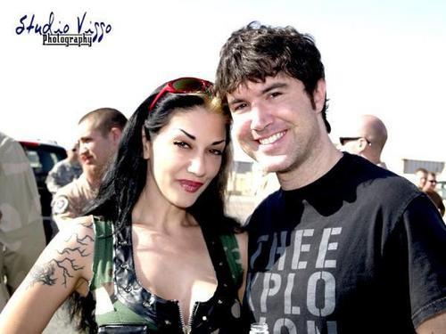 Metal Sanaz and Tom!