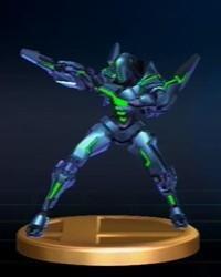 Metroid Series Trophies