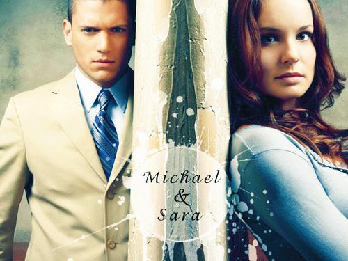 Michael with Sara