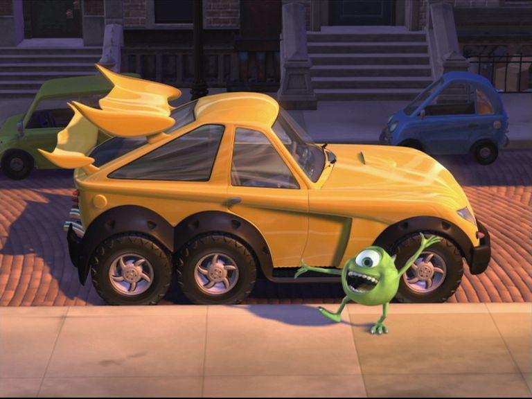 Pixar Mike S New Car