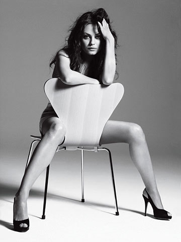 Mila in GQ
