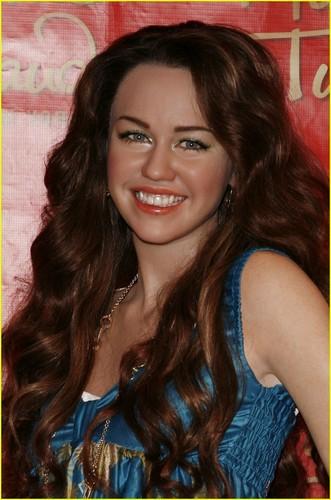 Miley Cyrus Wax Figure