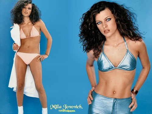 milla jovovich wallpaper entitled Milla
