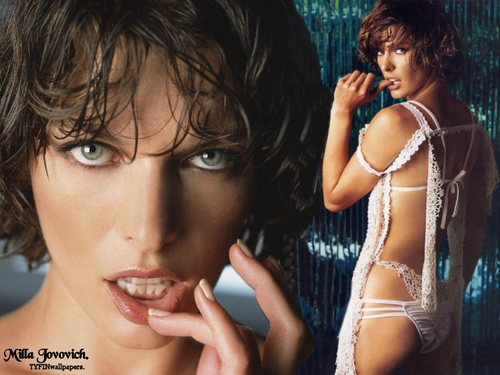 milla jovovich wallpaper called Milla