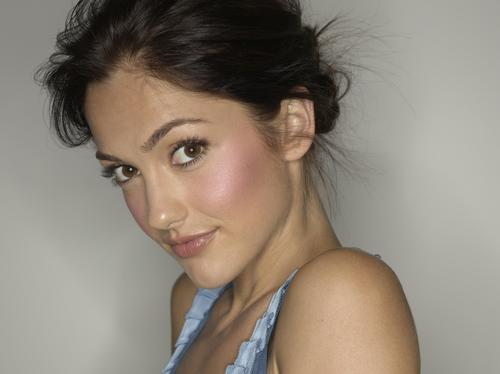 Minka Kelly wallpaper containing a portrait titled Minka Kelly