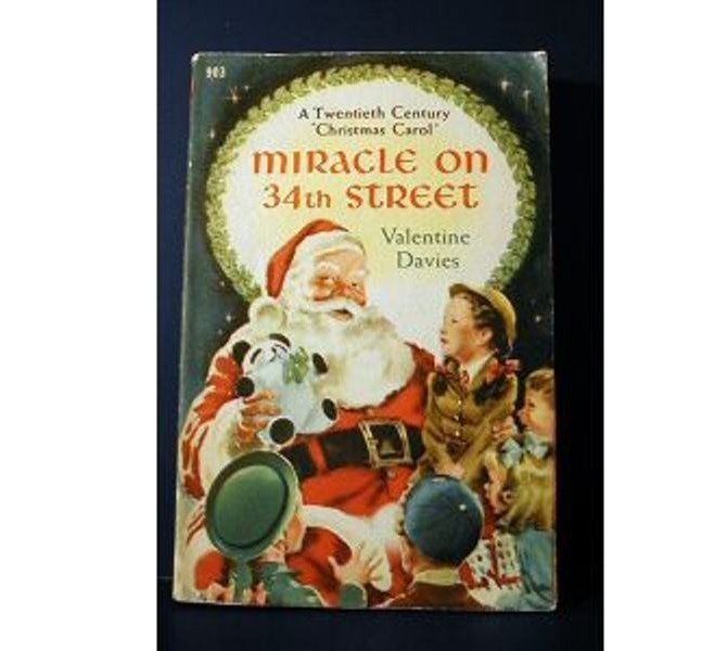 Christmas Tree Miracle Movie: Miracle On 34th Street Novel