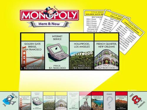 Monopoly fond d'écran