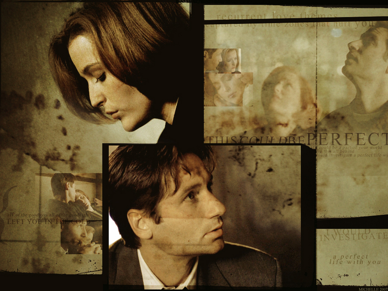 X Files Mulder. Mulder & Scully (X-Files)