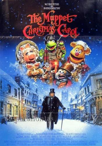 Muppets Рождество Carol poster