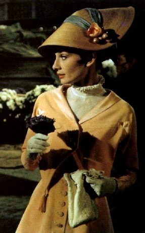 Audrey Hepburn wallpaper possibly with a surcoat entitled My Fair Lady