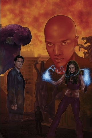 Buffyverse Comics achtergrond probably containing anime entitled Mystery Woman