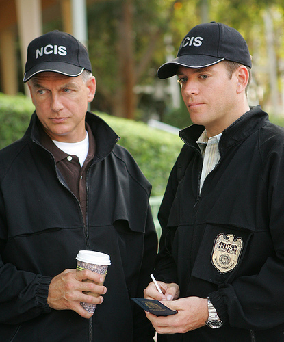 Michael Weatherly kertas dinding titled NCIS