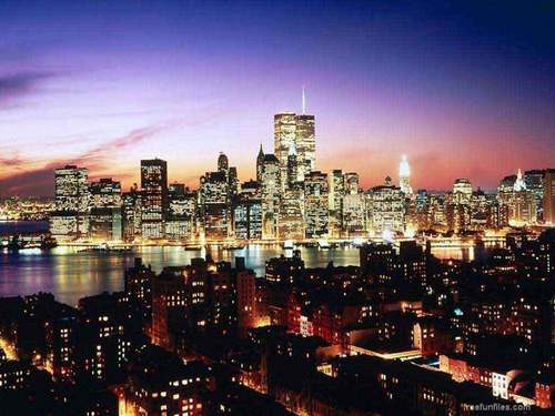 New York wallpaper containing a business district, a skyscraper, and a refinery titled NYC