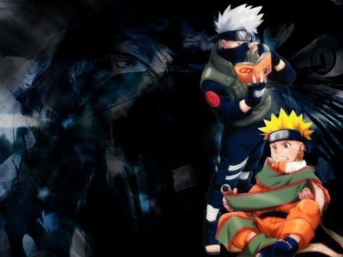 naruto and kakashi
