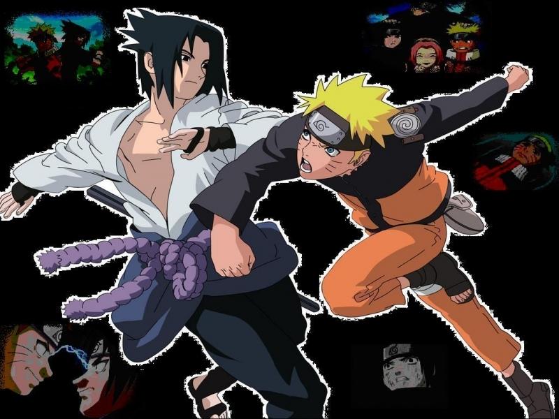 sasuke wallpaper. Naruto vs Sasuke