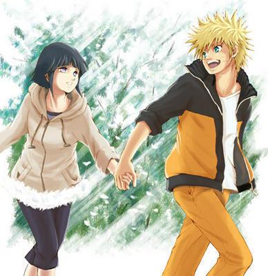 Naruto with Hinata