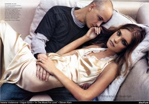 Vogue wallpaper titled Natalia Vodianova