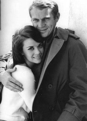natalie wood wallpaper called Natalie and Steve Mcqueen