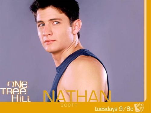 Nathan Scott wallpaper with a portrait entitled Nathan Scott