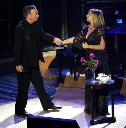 Neil & Barbra Streisand
