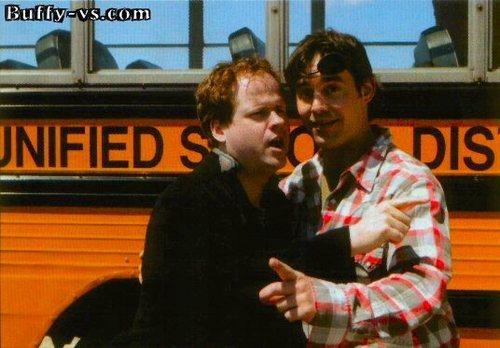 Nicholas Brendon & Joss Whedon
