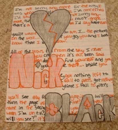 Nick Black Fan Stuff