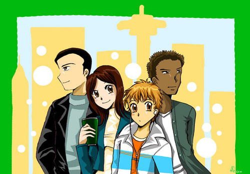 Nick Sara Greg Warrick Anime