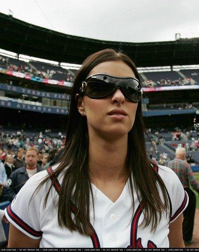 Nicky at the Atlanta Braves