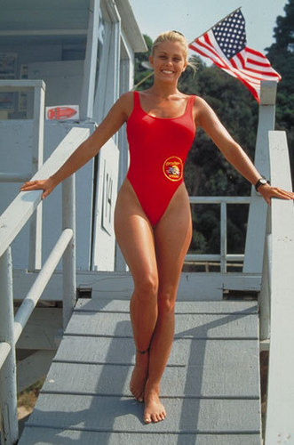 Nicole on Baywatch