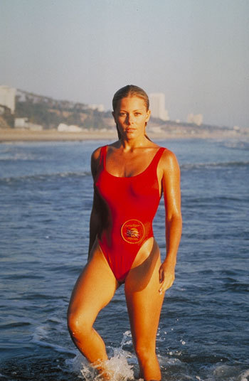 Nicole on Baywatch