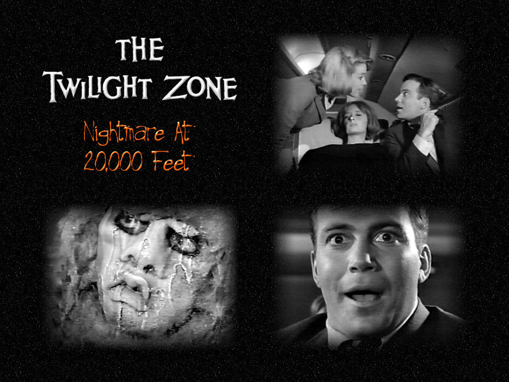 The Twilight Zone Images Nightmare At 20000 Feet HD Wallpaper And Background Photos