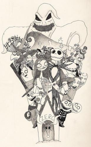Nightmare Before Christmas - nightmare-before-christmas Fan Art