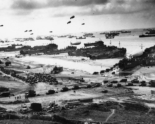 Normandy Invasion - June 1944