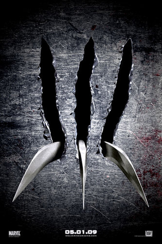 Wolverine wallpaper probably with a dirk and a dagger titled Not Official Teaser Poster