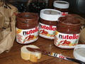 Nutella Jars - nutella photo
