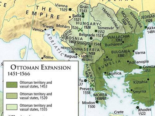 Europe wallpaper called Ottoman Empire 1451-1566