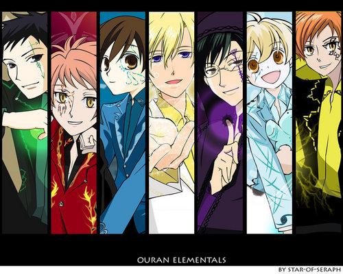 Ouran Elementals