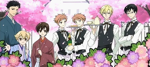 Anime wallpaper titled Ouran High School Host Club
