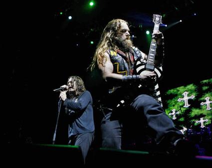 Ozzy Osbourne and Zakk Wylde