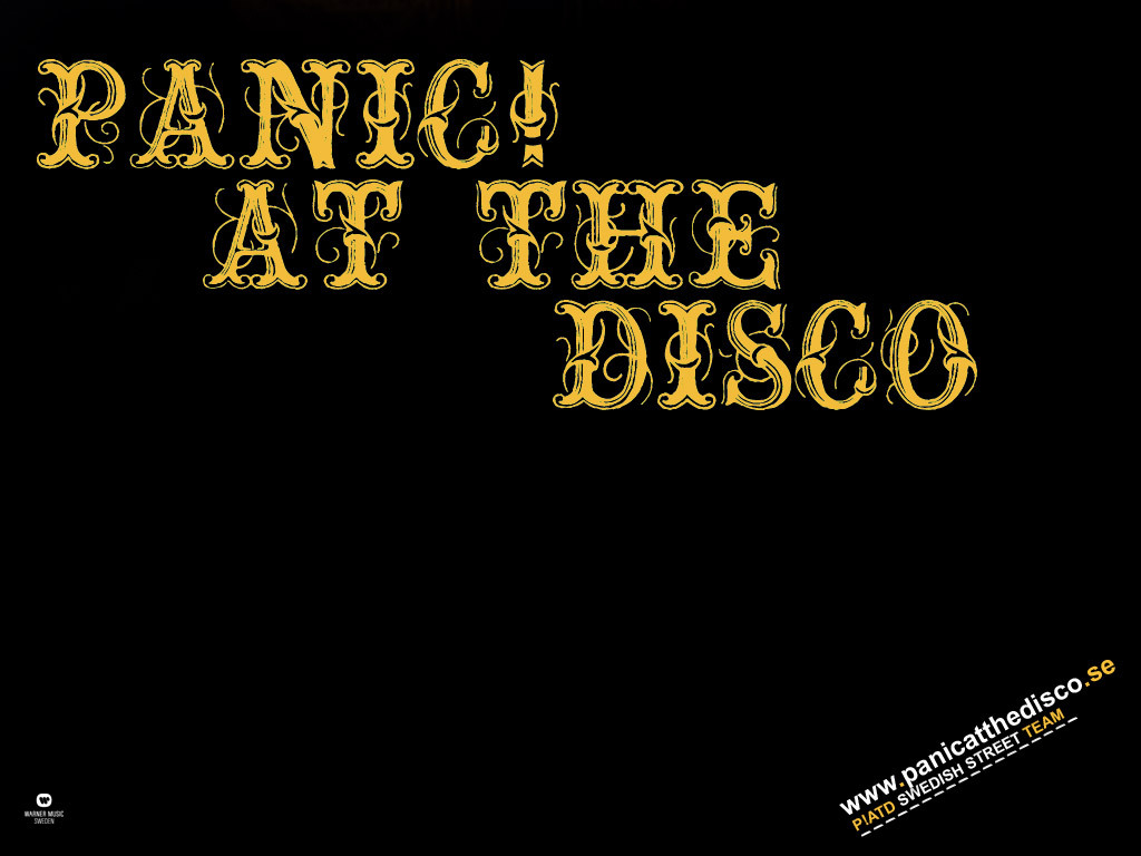 Panic  at the Disco Panic  at the DiscoPanic At The Disco Logo Wallpaper