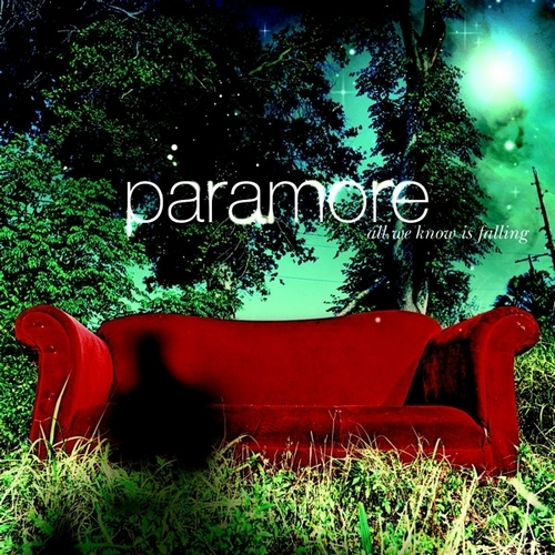Paramore achtergrond entitled Paramore Album Cover