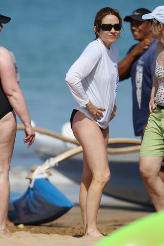 Patricia Heaton Hintergrund entitled Patricia In Hawaii