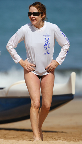 patricia heaton fondo de pantalla called Patricia In Hawaii